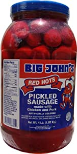 Big John's Pickle Red Hots - Gallon from Red Smith
