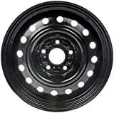 "Dorman Steel Wheel with Black Painted Finish (16x6.5""/5x115mm)"