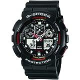 G-Shock Ana-digi World Time Black Dial Men's watch #GA100-1A4