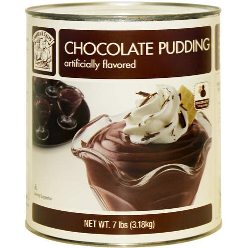 Bakers & Chefs Chocolate Pudding - 112 oz.