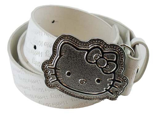 hello-kitty-sports-character-belt-size-l-large-38-white-womens-girl-golf-tennis
