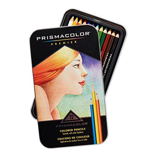 Prismacolor Premier Colored Pencils, Soft Core, 12-Count