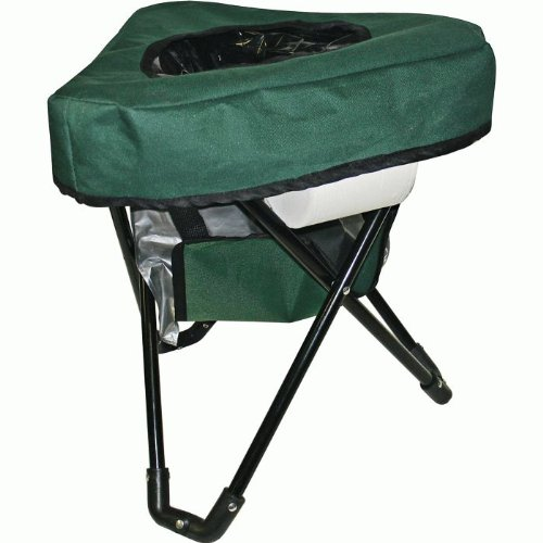 Reliance Products Tri To-Go Portable Toilet n Chair (Green)