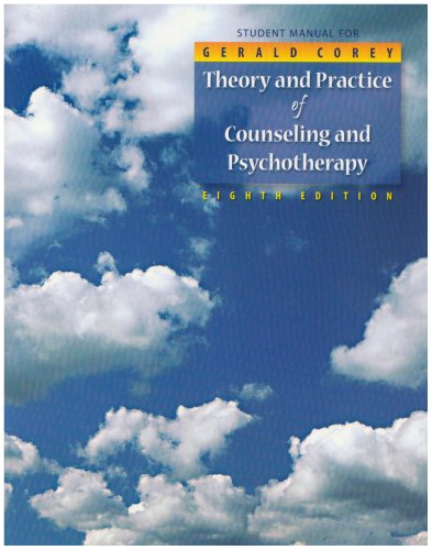 Student Manual for Theory and Practice of Counseling and...