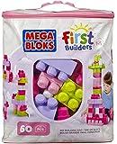 Mega Bloks Pink Buildable Bag (60 Pieces)(1)