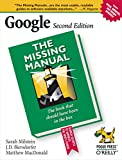 Google: The Missing Manual (0596100191) by Milstein, Sarah