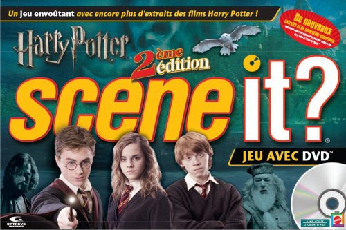 Mattel - Jeux de société - Scene it Harry Potter 2