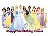 Single Source Party Supply - Disney Princess Edible Icing Image #16-8.25 Round