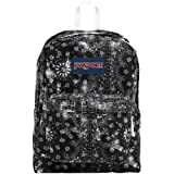 "JanSport Superbreak Backpack - Black Bandana / 16.7""H x 13""W x 8.5""D"