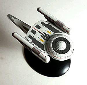 #36 Star Trek Oberth Class Die Cast Metal Ship-UK/Eaglemoss w Magazine