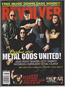 Revolver Magazine August 2007 Project Revolution My Chemical Romance Taking Back