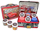 Disney Cars Cupcake Kit in Collectible Tin #1 by Crispie Sweets - Sprinkles and Baking Cups Set
