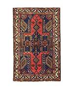Eden Alfombra Khamseh Azul/Rojo/Multicolor 127 x 197 cm