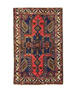 L'Eden del Tappeto Alfombra Khamseh Azul / Rojo / Multicolor 127 x 197 cm