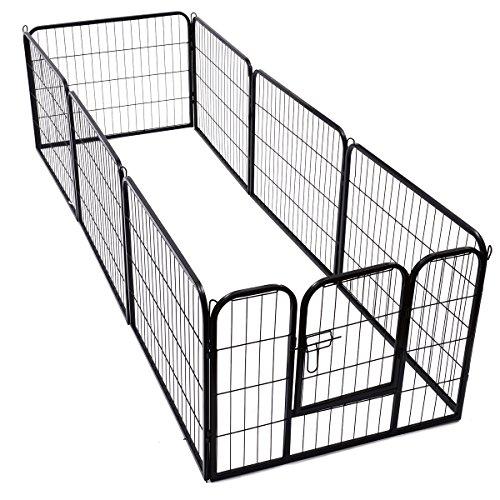 Outsunny recinto per cani gatti cuccioli roditori - Recinto mobile per cani ...