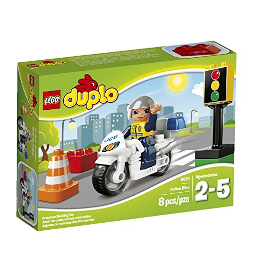 LEGO DUPLO Town Police Bike 5679 Building Kit - 1