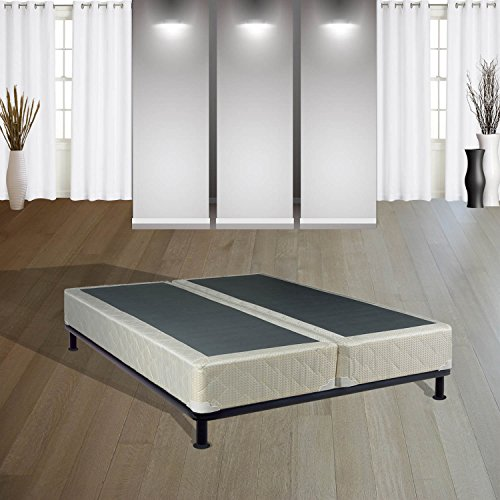 Continental Sleep 8-Inch Queen  Size Fully Assembled Split Box Springs For Mattress, Today's Dream Collection (Split Box Spring For Queen Bed compare prices)