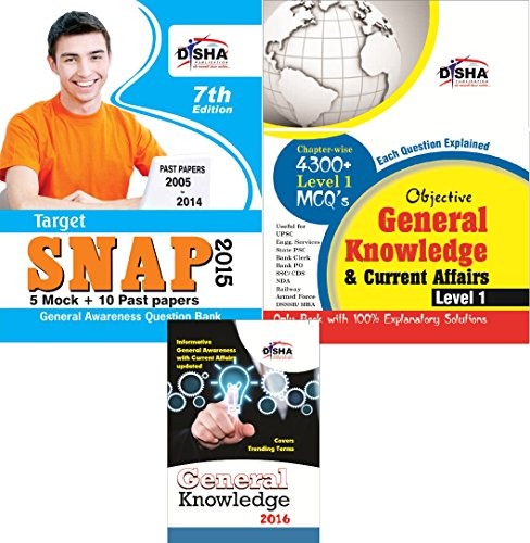 SNAP 2015 Simplified (Past papers + Mock Tests + General Knowledge) (Old Edition)