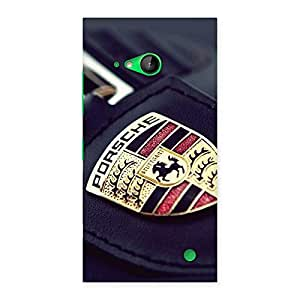 Ajay Enterprises Delight ors Back Case Cover for Lumia 730