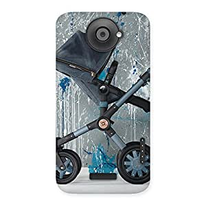 Special Denim Baby Print Back Case Cover for HTC One X