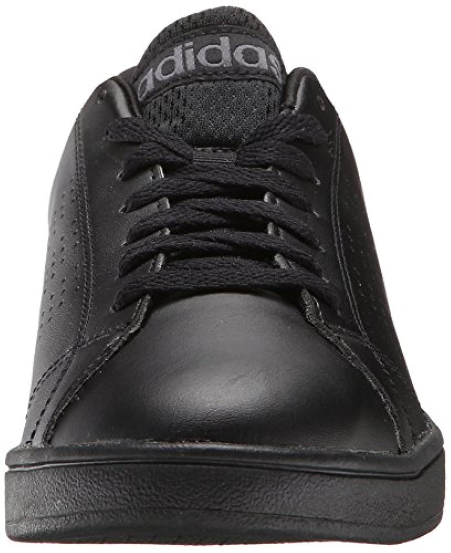 sale retailer e08ef 31ee1 ... adidas NEO Mens Advantage Clean VS Lifestyle Tennis Shoe,BlackBlack Lead, ...