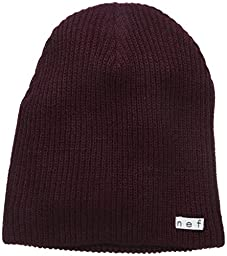 neff Men\'s Daily Beanie, Port, One Size