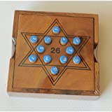 Plus 26 wooden brain teasers Strategy Game puzzle (chinese thai puzzle game)