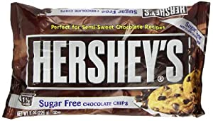 Hershey's Sugar Free Semi-Sweet Baking Chips, 8 Ounce