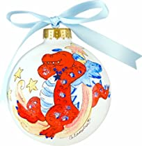 Light of Mine Ornament, Red Dragon on White