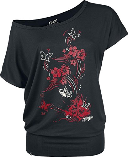 Full Volume by EMP Butterflies Maglia donna nero S