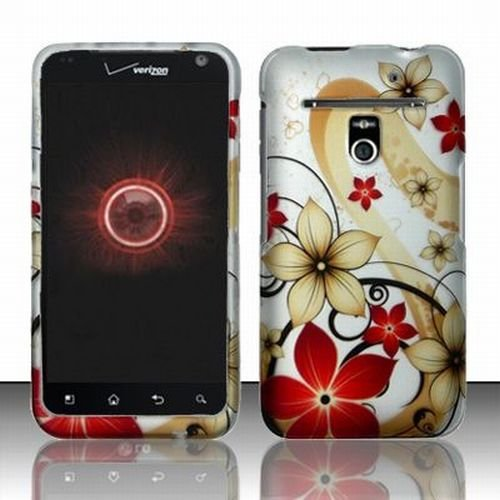 Verizon LG Revolution 4G Accessory - Blossoming Spring Flower Protective Hard Case Cover Design