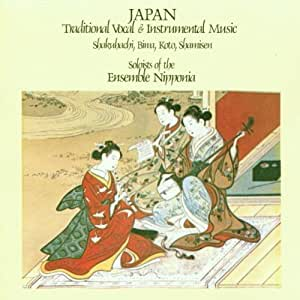Japan Traditional Vocal & Instrumental Music - Shakuhachi, Biwa, Koto, Shamisen