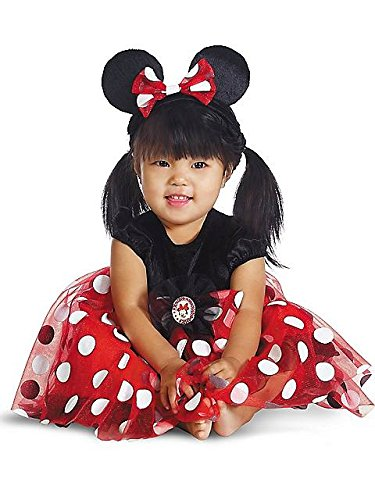 Red Minnie Mouse Costume - Newborn 6-12