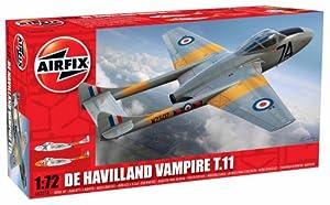 Airfix 1:72 De Havilland Vampire T.11 Aircraft Model Kit