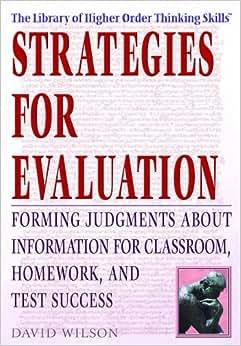 evaluation of homework