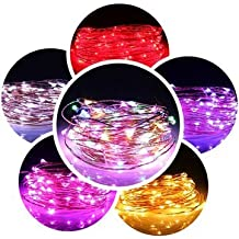 10M 100 LED Warm White String Fairy Light DC12V Waterproof Copper Wire Christmas-Purple