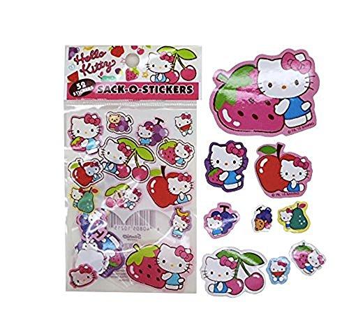 hello-kitty-hermoso-unico-estilo-sack-o-stickers-set-fruity-coleccion