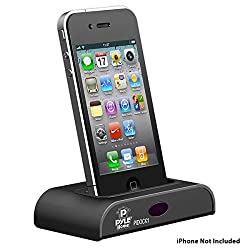 Pyle Home PIDOCK1 Universal iPod/iPhone Docking Station for Audio Output Charging Sync with iTunes and Remote Control