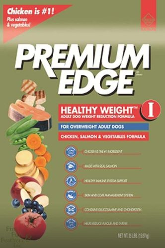 Premium Edge Healthy Weight II Weight Control Formula Chicken Flavor Adult Dry Dog Food, 35-Pound Bag