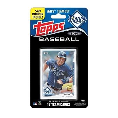 MLB Tampa Bay Rays 2014 Team Set Trading Card