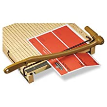 Swingline ClassicCut Ingento Guillotine Paper Trimmer, 12 Inch Cut Length, 15 Sheet Capacity, Maple, Model CL500m (1132)