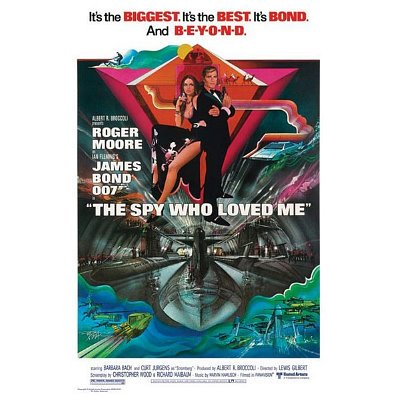 Movies Posters: James Bond - The Spy Who Loved Me - Submarine Poster - 91.5x61cm