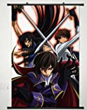 Home Decor Japanese Anime Code Geass Lelouch of the Rebellion POSTER WALL Scroll - Lelouch Lamperouge -23.6 X 35.4 Inches -P107301001