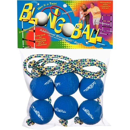 Blongo Family Fun BB-2 S-BL BlongoBall Soft Accessory Pack (Blue)