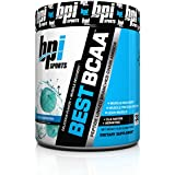 BPI Sports Best BCAA Peptide Linked Branched Chain Amino Energy Powder, Blue Raspberry, 10.58-Ounce