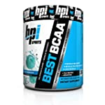 BBPI Sports Best BCAA Powder, Blue Ra...