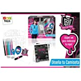 Monster High - Diseña camisetas (IMC Toys)