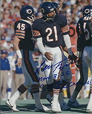 Autographed Leslie Frazier Chicago Bears 8x10 Photo