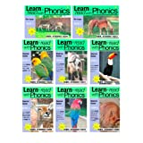 'Learn To Read With Phonics' eight book set. (Fun, colour in, complete phonic reading scheme. Proven to teach children to read in just 8 books (with free gift!))by Sally Jones