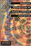 Research perspectives on second language acquisition (0773054162) by Archibald, John